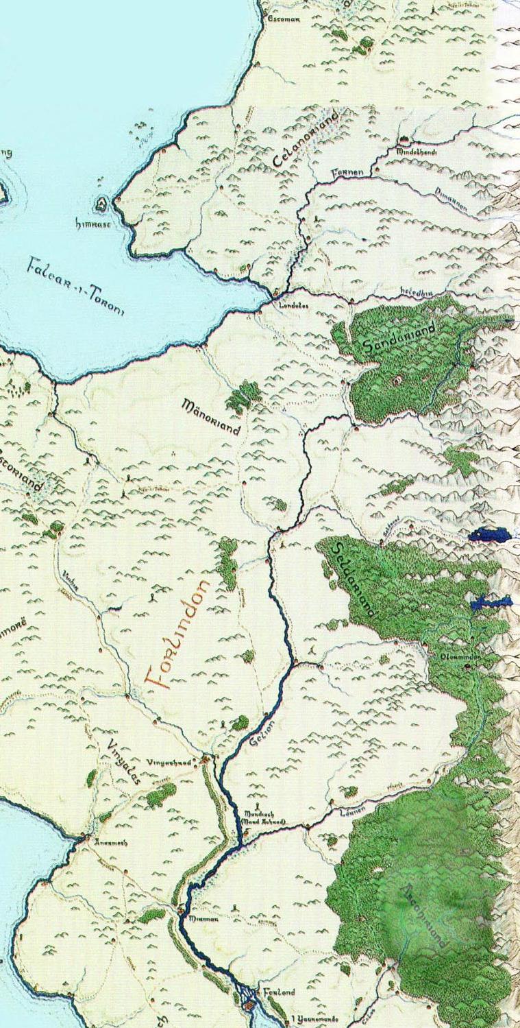 Central basin of Forlindon