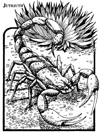 Painted Scorpion