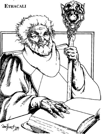 Ethacali the Dark Mage of Rhudaur