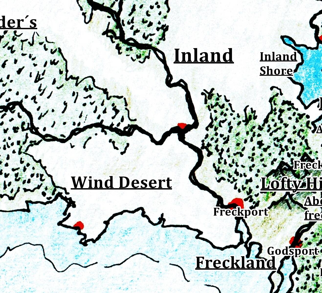 Wind Deserts