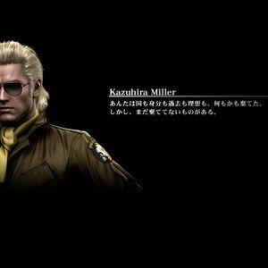 Kazuhira Miller Metal Gear Wiki Fandom ] bbe kaz ewe second in command to the best soldier. kazuhira miller metal gear wiki fandom