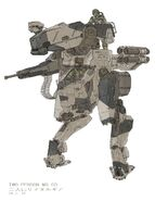 Two person metal gear concept 1