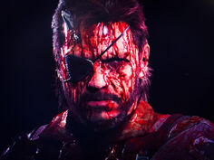 Bloody-Quiet-MGSV-Poster-Horror-Snake