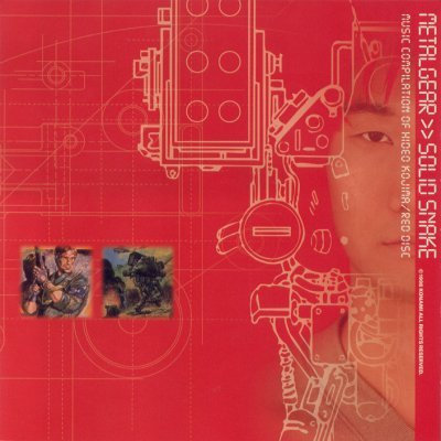 Metal Gear / Solid Snake: Music Compilation of Hideo Kojima / Red Disc