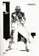 Metal Gear Solid 1 Art Cast FOXHOUND Member Twin Brother Liquid Snake