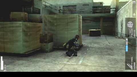 """MGS PEACE WALKER Night 1 """"For Starters A Solo Sneaking Mission""""-0"""