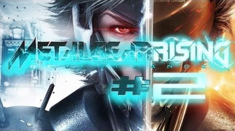 Metal Gear Rising Revengeance Gameplay 2 - Let's Play Metal Gear Rising Revengeance German