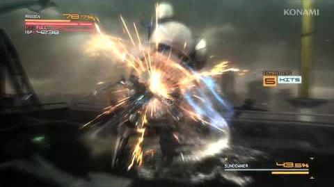 Metal Gear Rising Revengeance Boss Battle Trailer MetalGearSolidTV