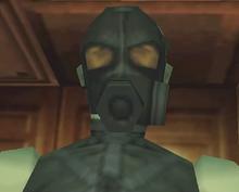Mantis, as he appears in the original Metal Gear Solid.