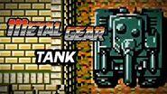Metal Gear (PS3) - Tank Boss Battle Gameplay Playthrough (Part 5)