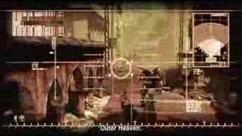 Metal Gear Solid 4 GC 2006 Trailer
