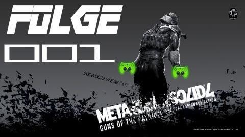 Let's Play Metal Gear Solid 4 001 Deutsch HD - Old Snake