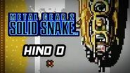 Metal Gear 2 Solid Snake (PS3) - Hind D Boss