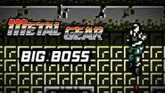 Metal Gear (PS3) - Big Boss Battle Gameplay