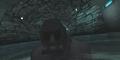 Солид Снейк всплывает из под воды