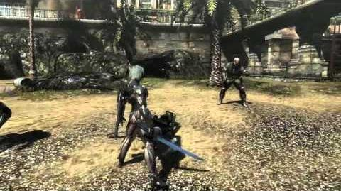 """Metal Gear Rising Revengeance - Cyborg Soldiers """"Cut at Will"""" Gameplay MetalGearSolidTV"""