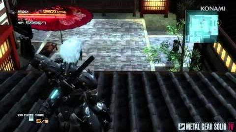 Metal Gear Rising Revengeance - AR Mode Trailer MetalGearSolidTV