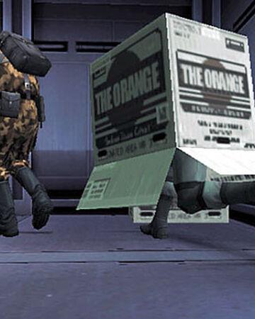 Cardboard Box Metal Gear Wiki Fandom The hamburgers of kazuhira miller. cardboard box metal gear wiki fandom