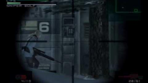 Metal Gear Solid - Sniper Wolf (2)