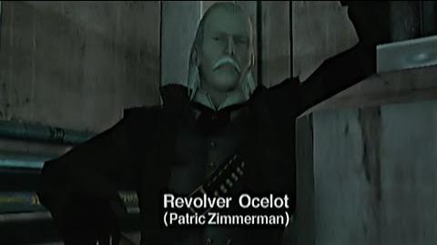 Metal Gear Solid - Revolver Ocelot