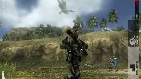 Metal Gear Solid Peace Walker Snake vs