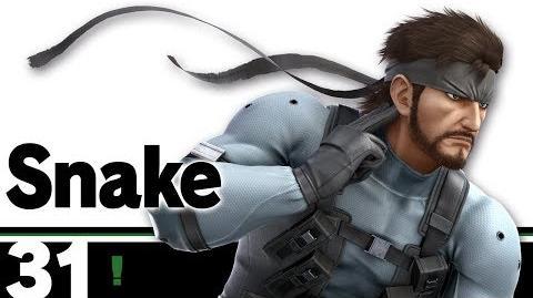 31 Snake – Super Smash Bros