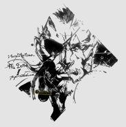 Famitsu-PlayStation-20th-Anniversary-Big-Boss-by-Shinkawa