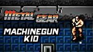 Metal Gear (PS3) - Machinegun Kid Boss Battle