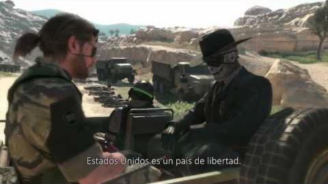 New & Official Metal Gear Solid V The Phantom Pain E3 2015 Trailer - Spanish