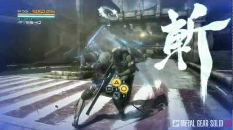 Metal Gear Rising Revengeance - Cut At Will And Zandatsu MetalGearSolidTV