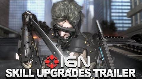 Metal Gear Rising Revengeance Trailer - Skill Upgrades