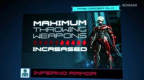 METAL GEAR RISING REVENGEANCE Amazon Inferno Armor Trailer