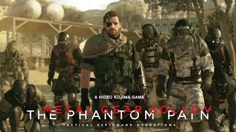 MGSV The Phantom Pain - Metal Gear Online Trailer TRUE-HD QUALITY