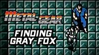 Metal Gear (PS3) - Finding Gray Fox Gameplay Playthrough (Part 1)