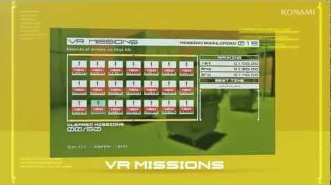 METAL GEAR RISING VR Missions