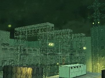 Power substation (San Hieronymo Peninsula)