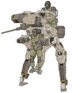 Two person metal gear concept 3