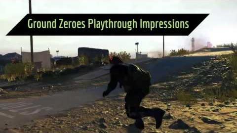 Metal Gear Solid V - Game Informer Coverage Trailer