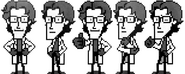 MGS4 Otacon Sprites Manual Scans