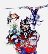Metal Gear Solid 1 The Twin Snakes Heroes
