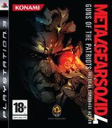 MGS4 European Cover