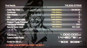 Bluerock MGS4 The Boss Extreme Final Results