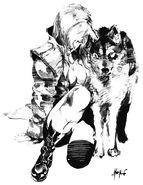 Mgs-sketch-wolf
