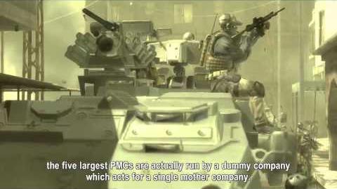 Metal Gear Solid 4 - E3 2006 Cinematic trailer
