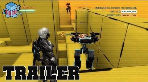 Metal Gear Rising Revengeance UNMANNED GEARS Official Trailer