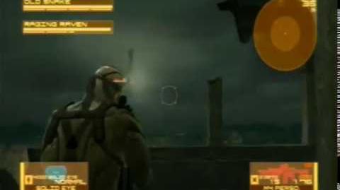 Metal Gear Solid 4 - Raging Raven