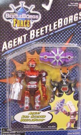 Agent Red Striker Beetleborg