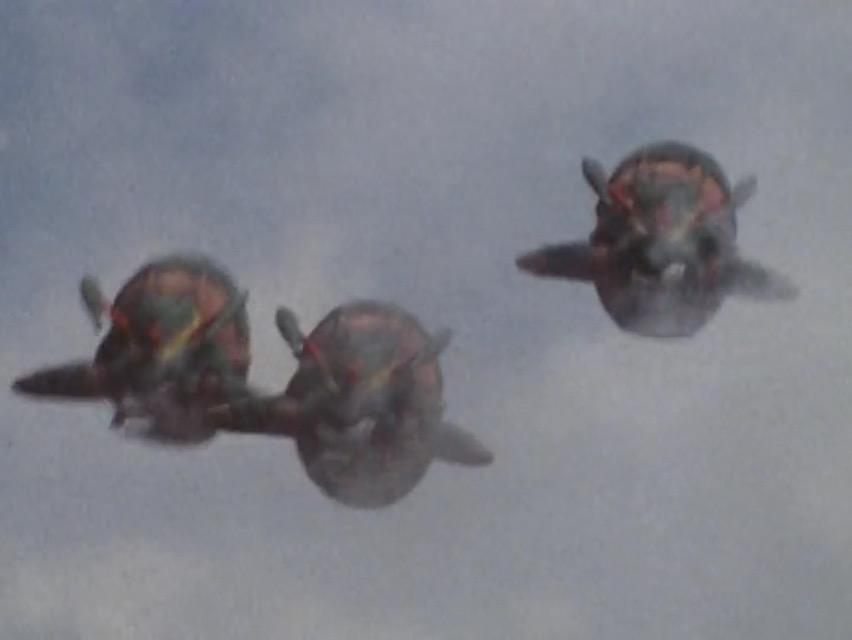 Crustacean Jet Fighters