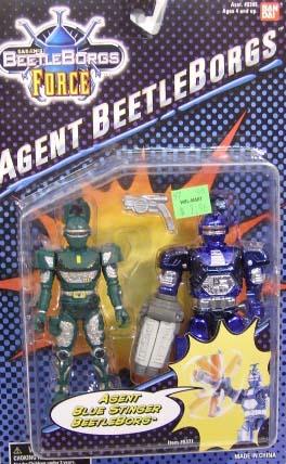 Agent Blue Stinger Beetleborg
