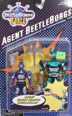 Agent Green Hunter Beetleborg